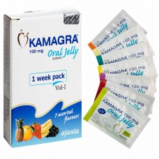 KAMAGRA ORAL JELLY 100MG | 7 SACHETS