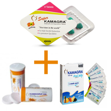 KAMAGRA COMBO (ORAL JELLY, SUPER 2-IN-1, EFFERVESCENT)